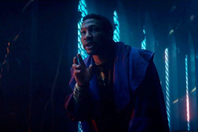 "Jonathan Majors dans le rôle de Kang dans ""Loki""."