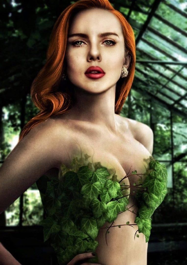 Voici à quoi Scarlett Johansson pourrait ressembler dans le rôle de Poison Ivy dans le
