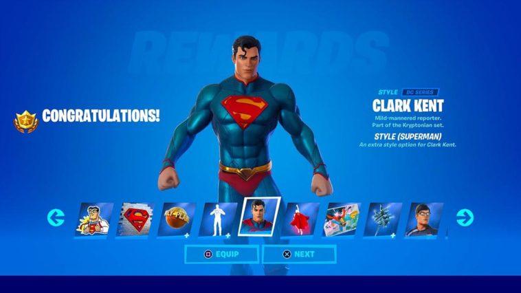 Ce que les bandes dessinées Fortnite Zero Point pourraient signifier pour le prochain skin Superman