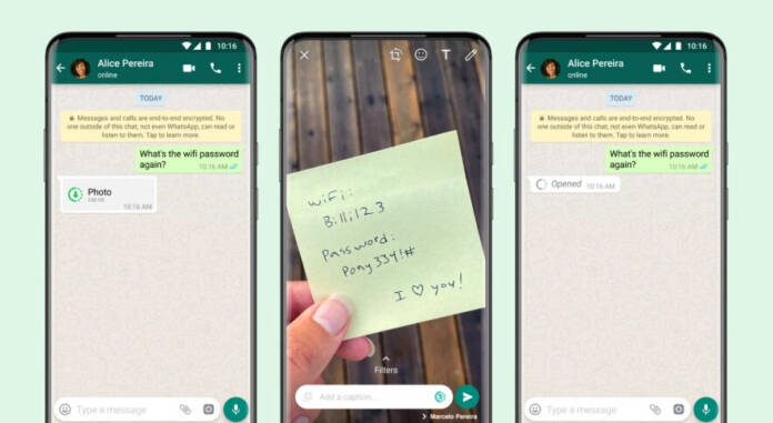 WhatsApp : comment envoyer des messages qui s'autodétruisent ?