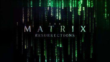 Matrix Resurrections: Matrix 4