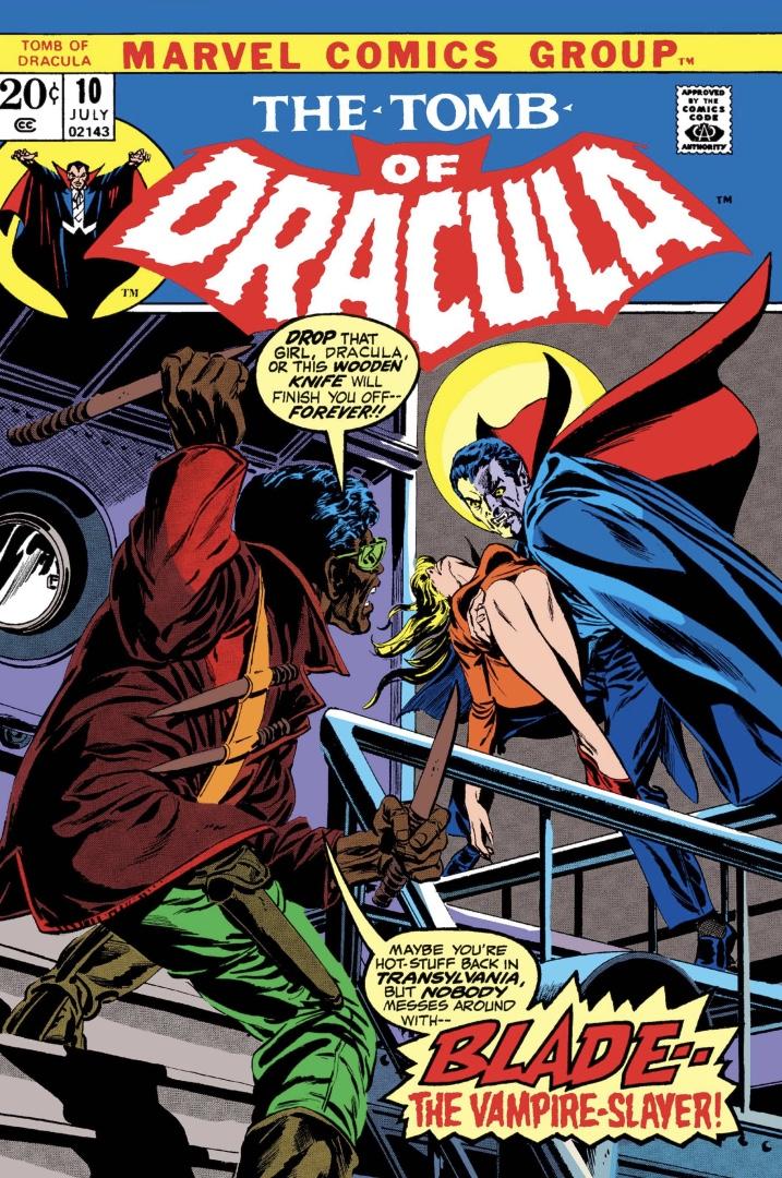 couverture du Tombeau de Dracula
