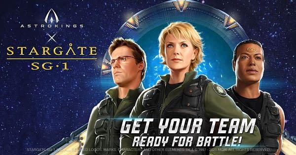 Stargate SG-1 fera un autre croisement avec AstroKings