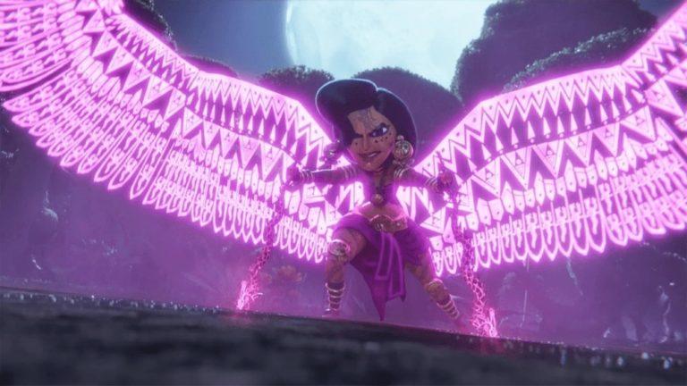 Maya et la déesse des trois miniséries animées netflix