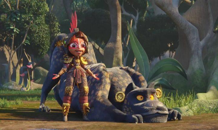 maya et les trois mini-série animée netflix princesse maya