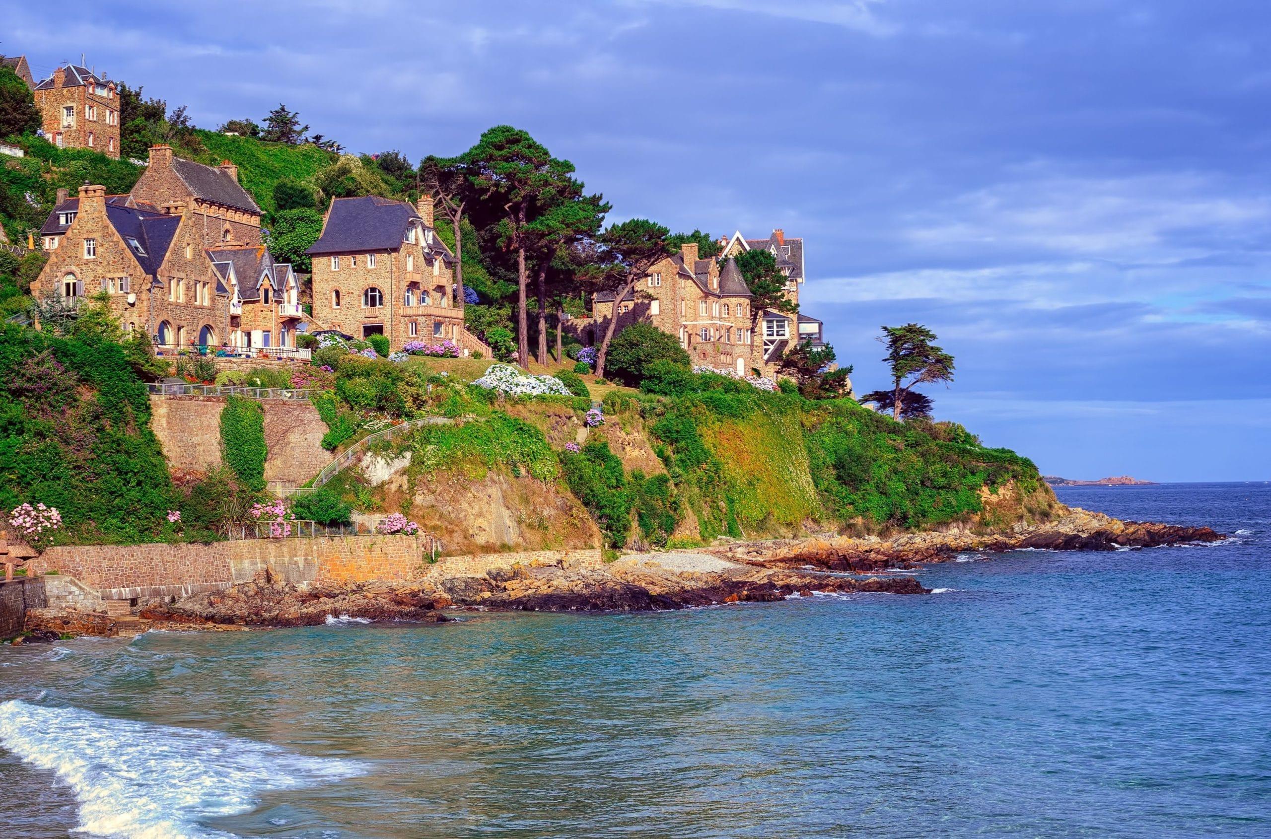 maisons côte atlantique automne